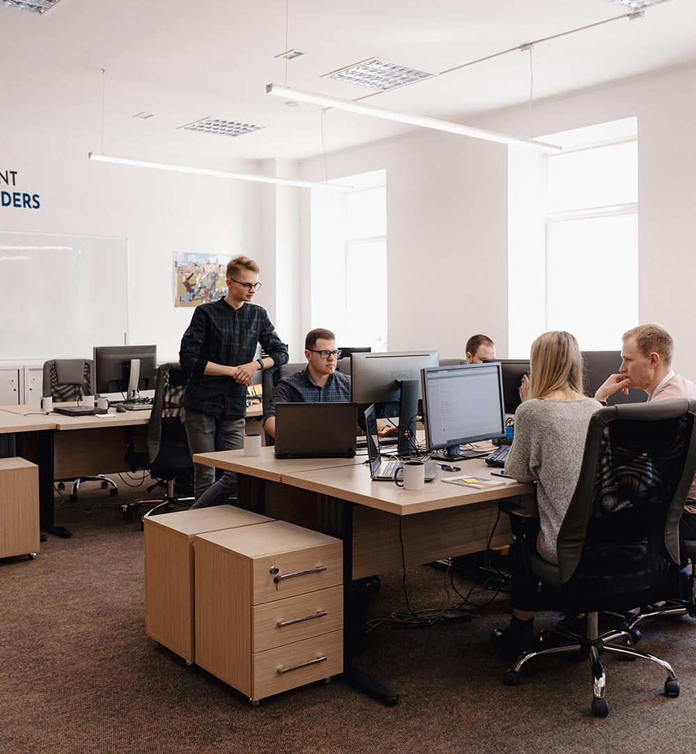 Kent Coders Interior Office Photo